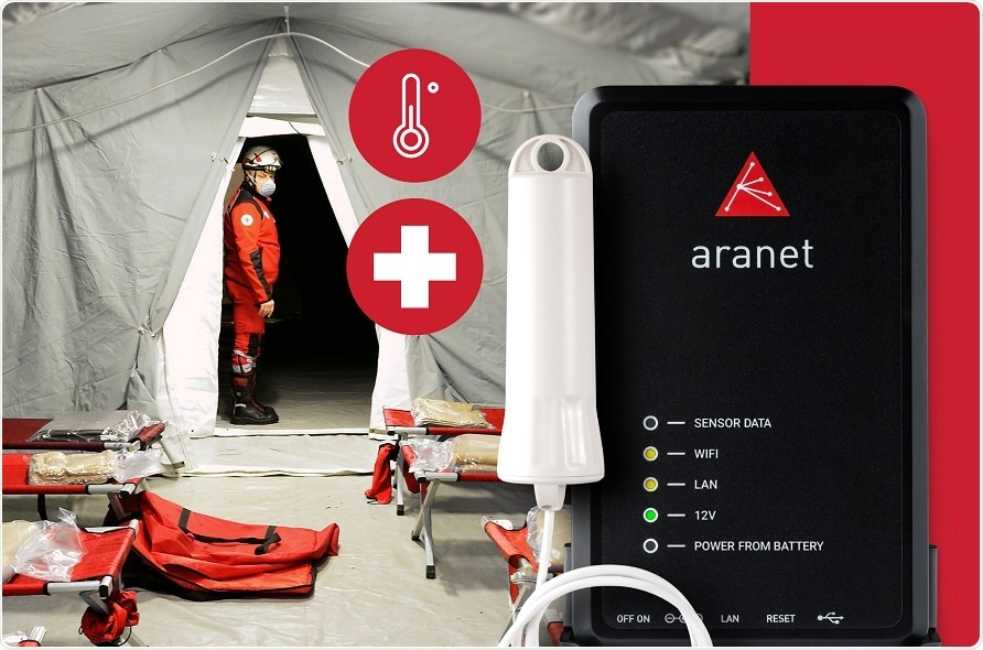 Aranet launches new medical grade thermometer for hospitals battling COVID-19