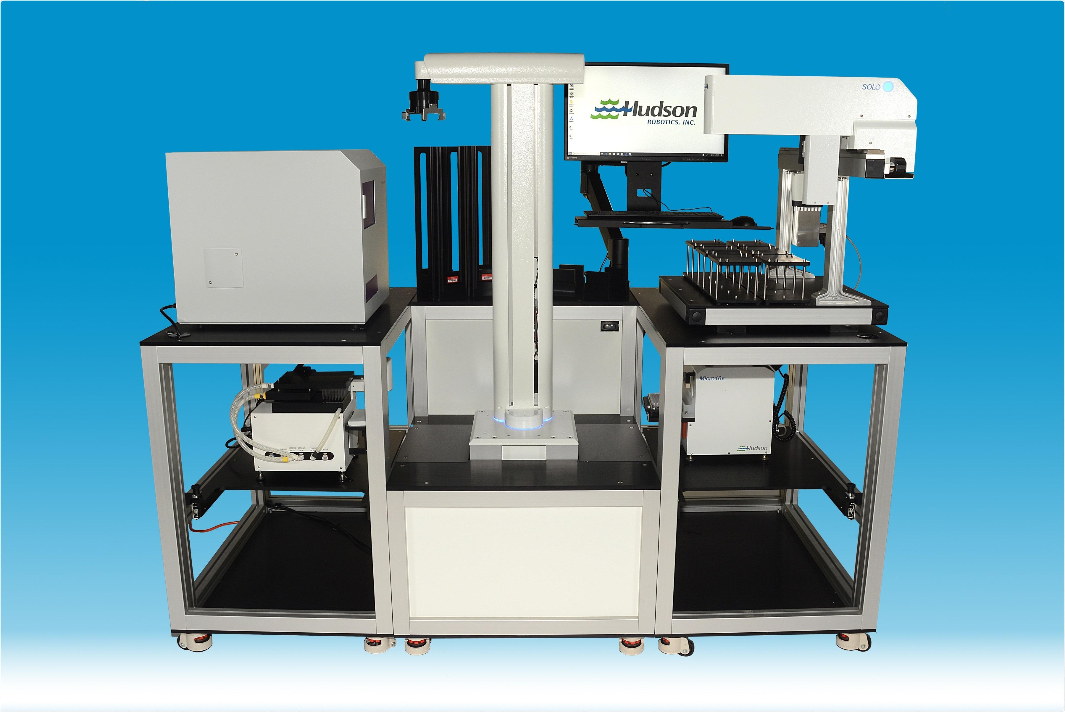 Automatisation de laboratoire pour la recherche de biome