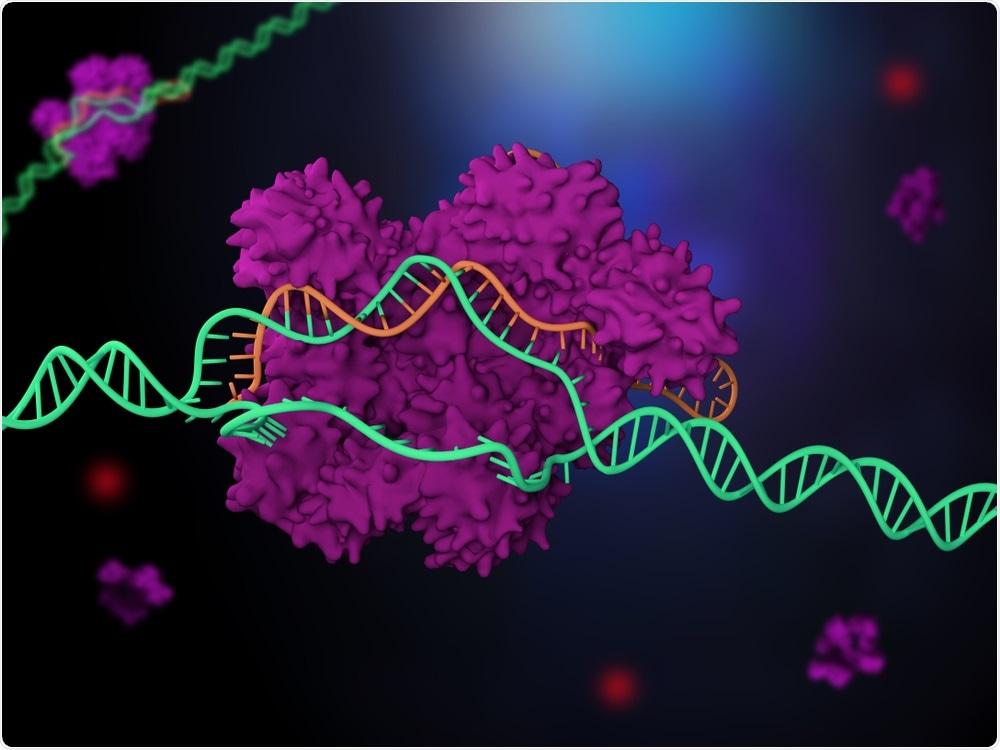Edição do gene de CRISPR