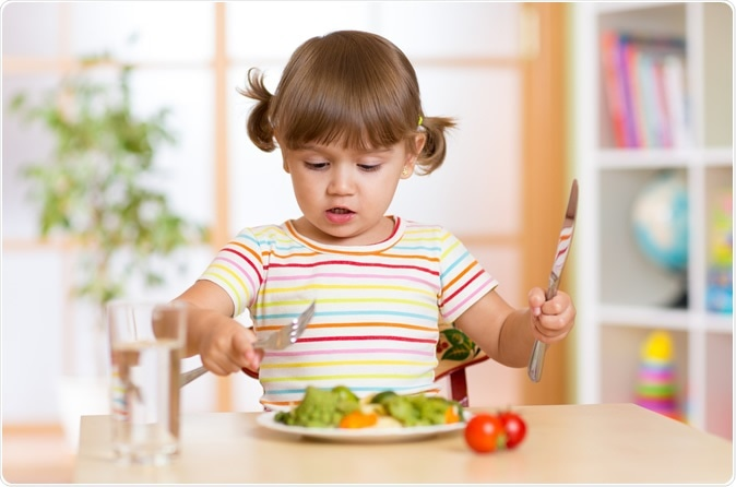 """New scientific statement from the American Heart Association, """"Caregiver Influences on Eating Behaviors in Young Children. Image Credit: Oksana Kuzmina / Shutterstock"""