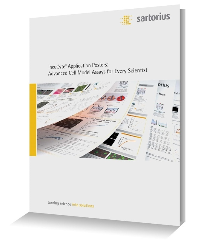 Sartorius Advanced Cell Model Assay Application Posters
