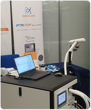 BET Sampler for Direct Real-Time Exhaled Breath VOC Analysis with PTR-TOFMS