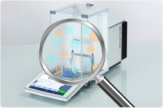 The only balance that detects, measures and eliminates static: The new XPR Analytical from METTLER TOLEDO
