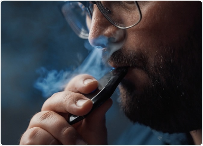 Study: Pulmonary toxicity and inflammatory response of e-cigarettes containing medium-chain triglyceride oil and vitamin E acetate: Implications in the pathogenesis of EVALI but independent of SARS-COV-2 COVID-19 related proteins. Image Credit: DedMityay / Shutterstock