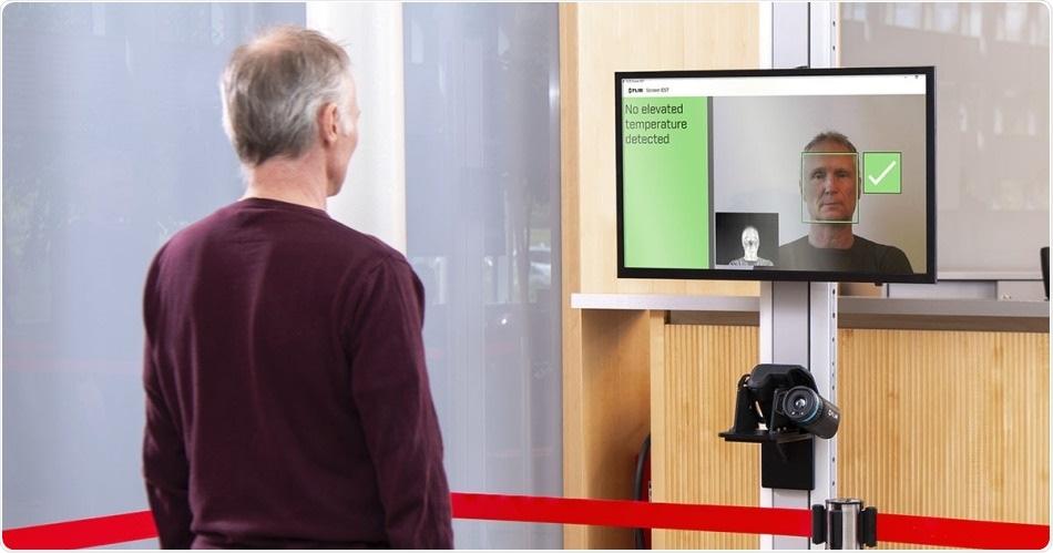 Le nuove guide del software del FLIR SCHERMO-EST migliorano la velocità, accuratezza della selezione di temperatura cutanea