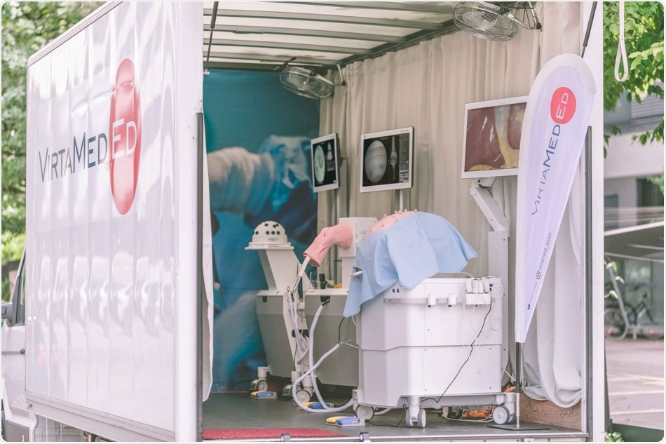 Swiss-based VirtaMed provides surgical training in hospitals with mobile simulation lab