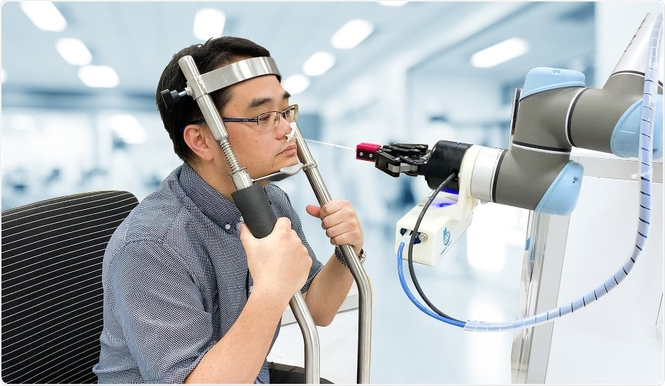 Brain Navi develops new nasal swab robot to prevent cross infections