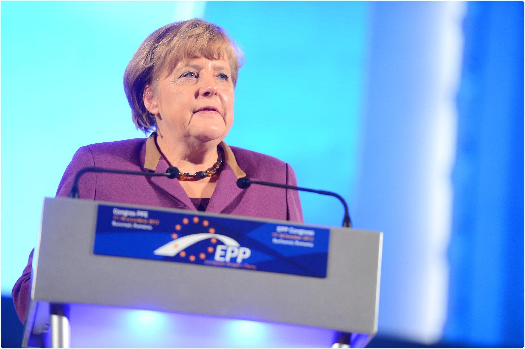 Angela Merkel, Chancellor of Germany. Image Credit: European People