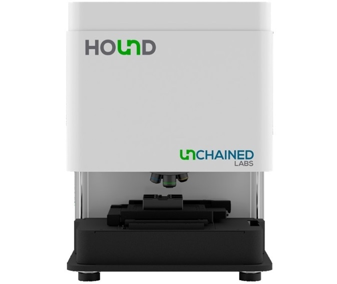 Hound counts and identifies the composition of visible and sub-visible particles with both automated and manual modes. Hound uses Raman (532 nm and 785 nm) and LIBS to identify the composition of particles, helping users track down the particle source.