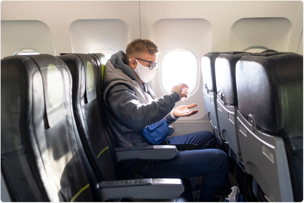 Covid-19 Risk Among Airline Passengers: Should the Middle Seat Stay Empty? Image Credit: EugeneEdge / Shutterstock