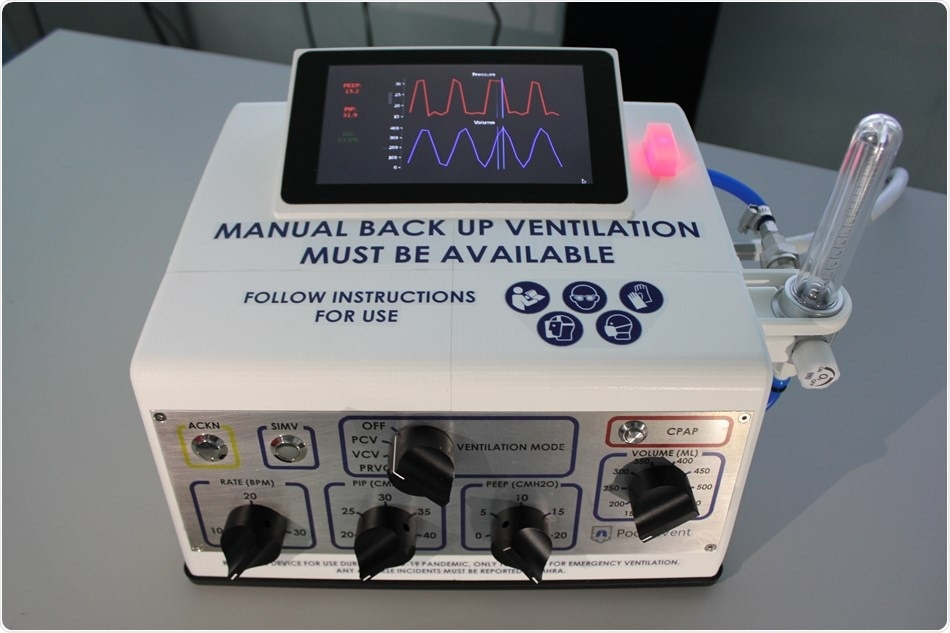 NPL scientists design a simple, low-cost ventilator