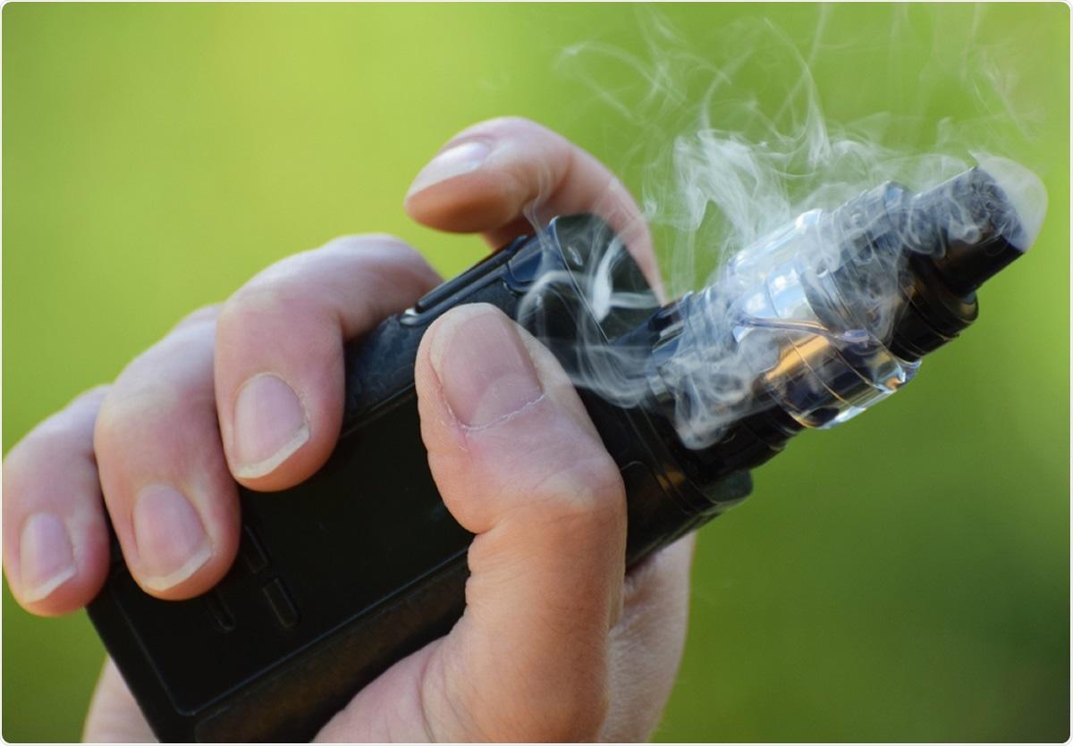Estudio: Asociación entre fumar de la juventud, uso electrónico del cigarrillo, y la enfermedad 2019 de Coronavirus. Haber de imagen: Amani A/Shutterstock