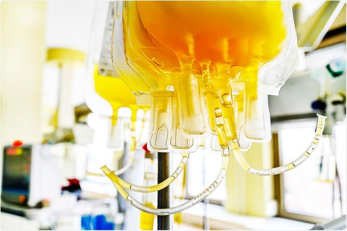 Estudio: Evidencie favorecer la eficacia del plasma convaleciente para la terapia COVID-19. Haber de imagen: Pirke/Shutterstock