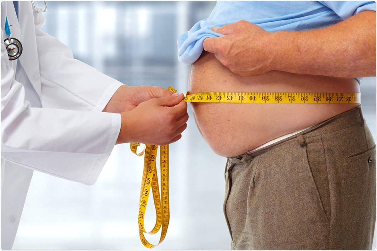 Obesity ups COVID-19 death risk by 48 percent, study says. Image Credit: Kurhan / Shutterstock