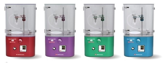 BioChromato's compact, benchtop Smart Evaporator C1 for DMSO and DMF samples