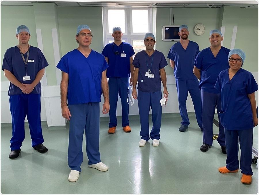 Renowned Harley Street hospital performs pioneering dual breast surgery