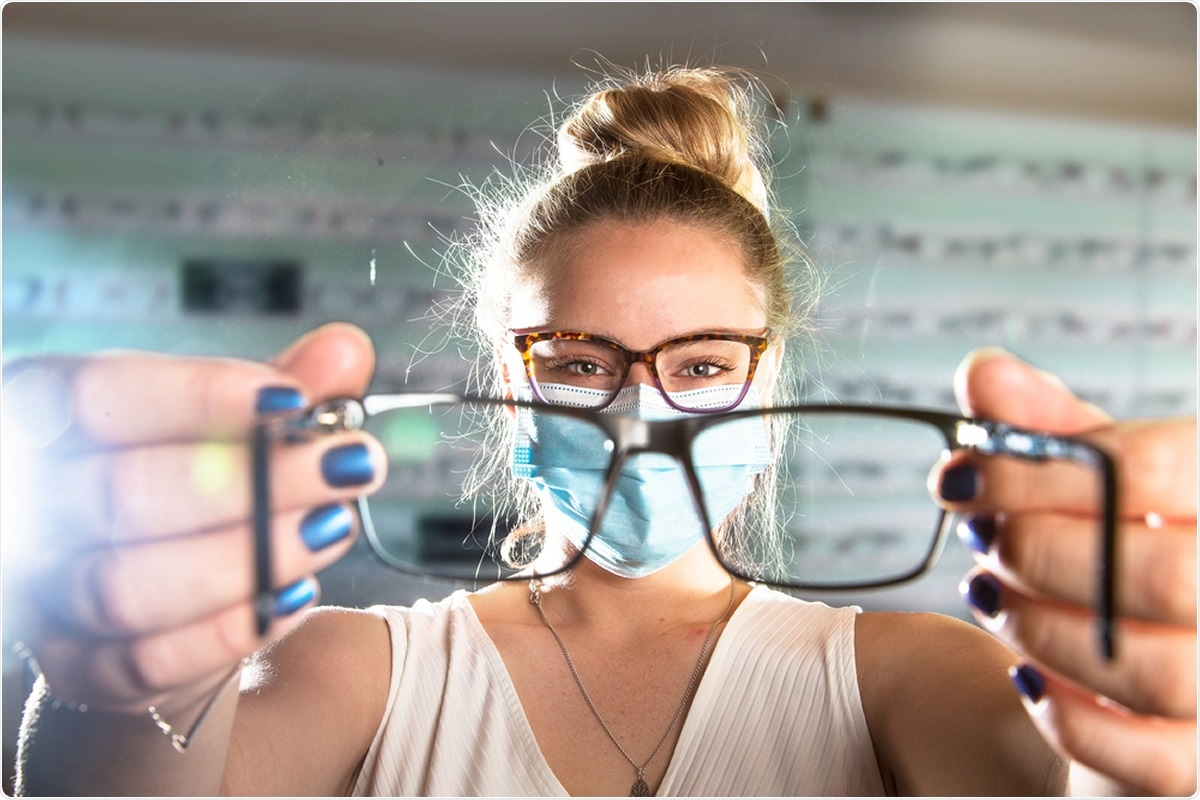 Report: Association of Daily Wear of Eyeglasses With Susceptibility to Coronavirus Disease 2019 Infection. Image Credit: Adrian Chinery / Shutterstock