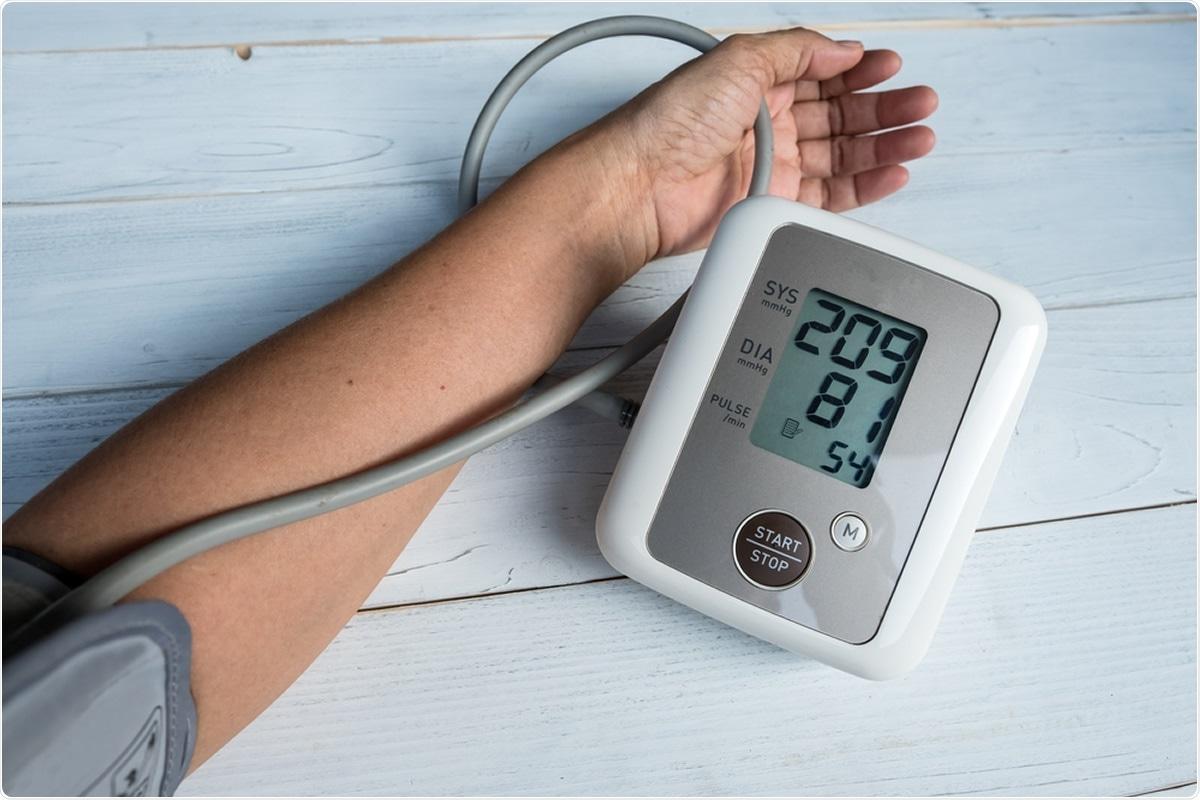 Estudo: Tendências no controle da pressão sanguínea entre adultos dos E.U. com hipertensão, 1999-2000 a 2017-2018. Crédito de imagem: Voraorn Ratanakorn/Shutterstock