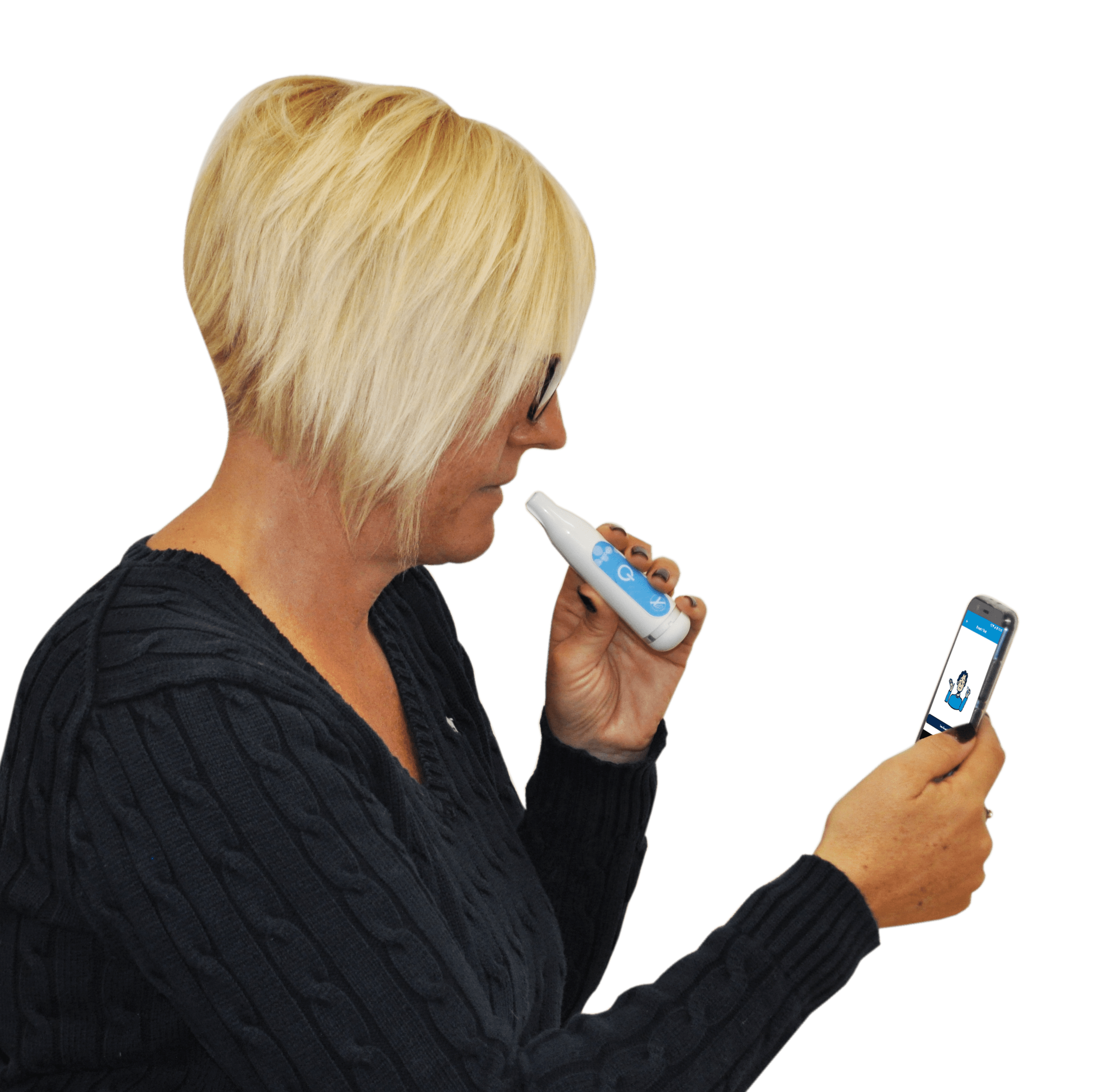 iCOquit® Smokerlyzer®: Personal Bluetooth Carbon Monoxide Monitor