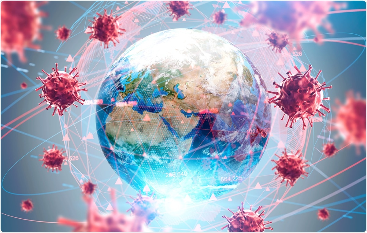 Study: Distinct mutations and lineages of SARS-CoV-2 virus in the early phase of COVID-19 pandemic and subsequent global expansion. Image Credit: ImageFlow / Shutterstock