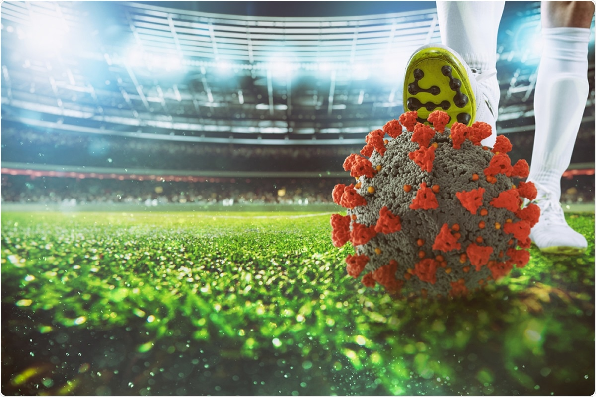 Study: Incidence and Relative Risk of infection with SARS-CoV-2 virus in European Soccer Players. Image Credit: alphaspirit.it / Shutterstock