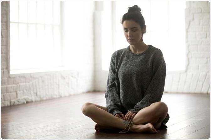 sukhasana meditation