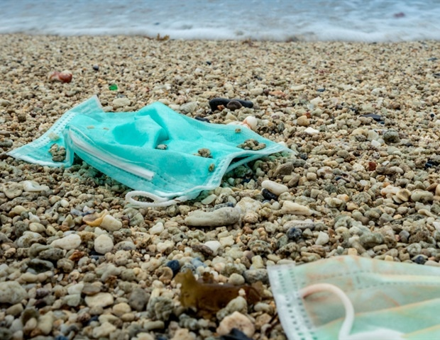 How has COVID-19 increased plastic pollution?