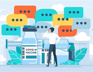 How can framing COVID-19 vaccine side-effects affect an individual's willingness to be vaccinated?