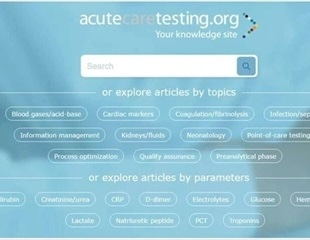 A practical guide to critical parameters in acute care testing