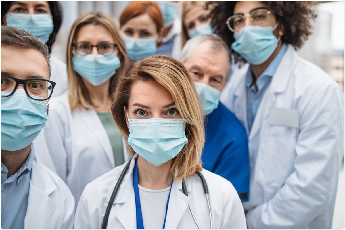Study: Decline in COVID-19 Hospitalization Growth Rates Associated with Statewide Mask Mandates — 10 States, March–October 2020. Image Credit: Halfpoint / Shutterstock