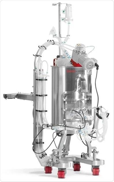 Thermo Scientific™ HyPerforma™ 50 L Single-Use Bioreactor (S.U.B.).