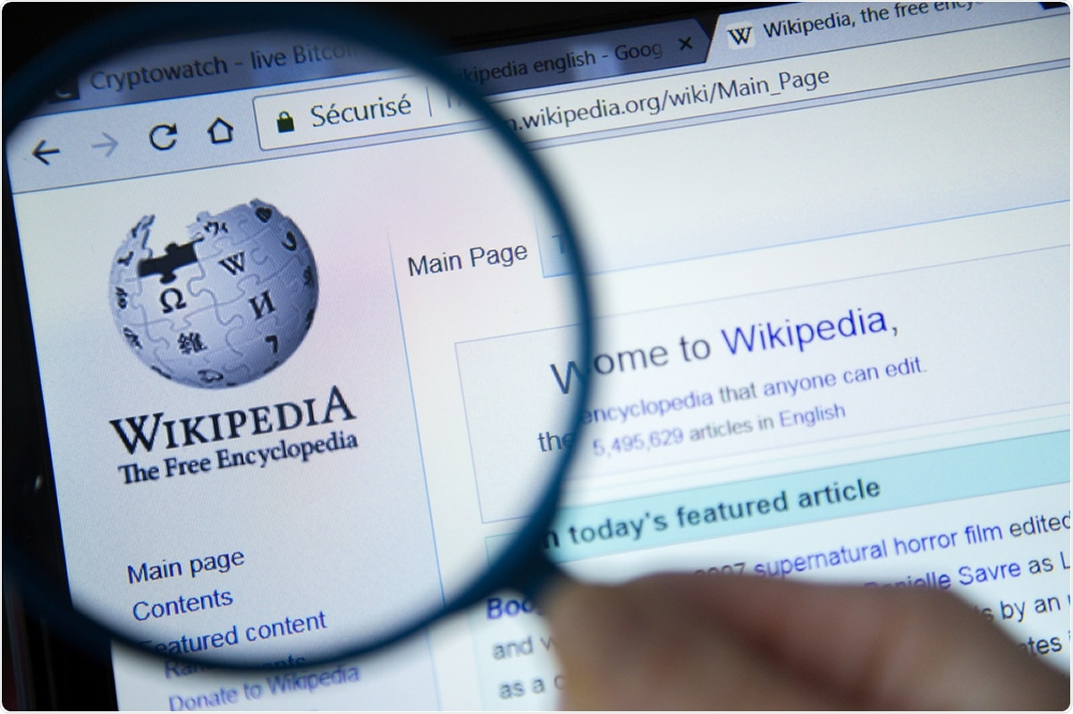 Wikipedia maintained high-quality COVID-19 coverage during first pandemic wave - News-Medical.Net