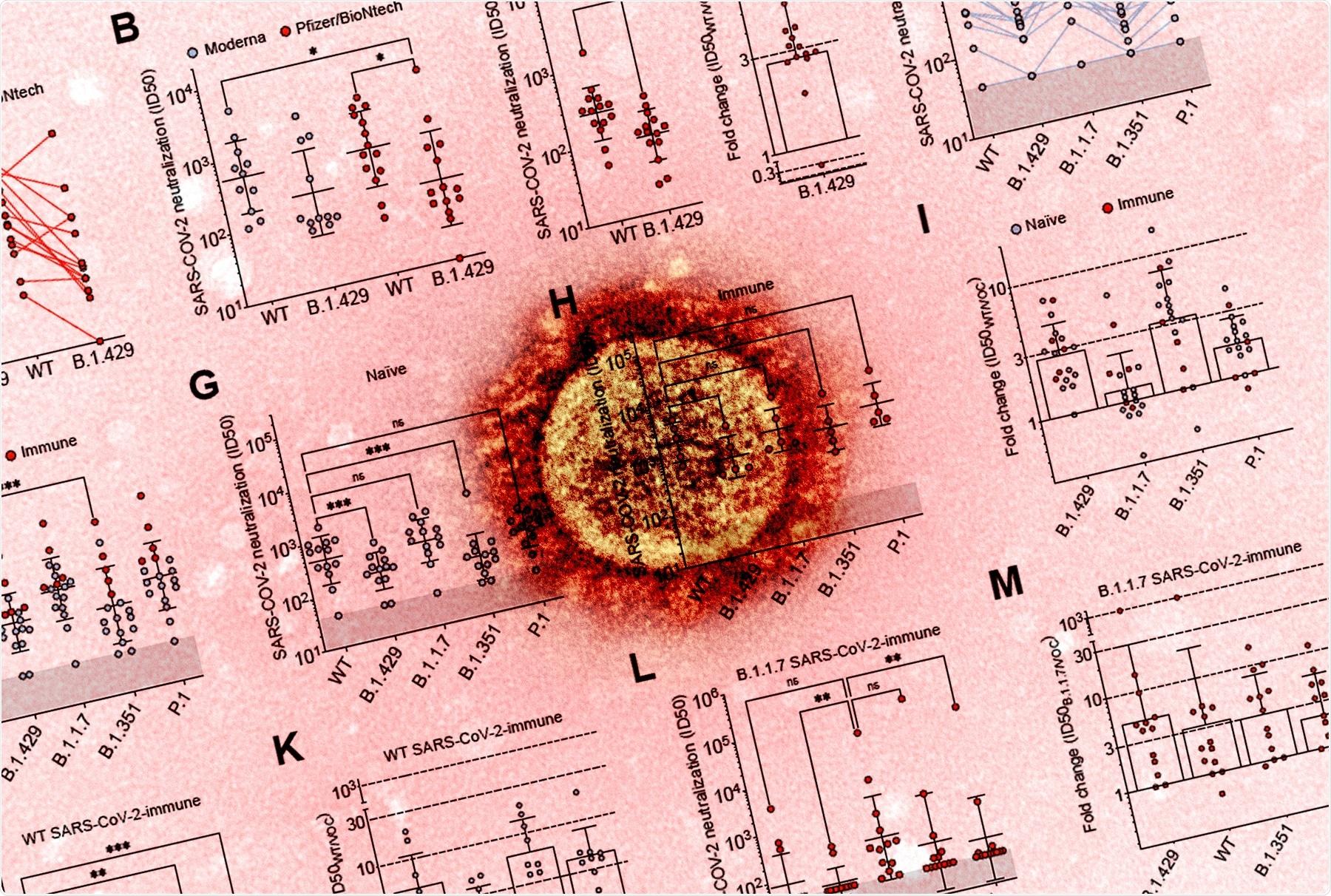 Étude : Évasion SARS-CoV-2 immunisée par la variante B.1.427/B.1.429