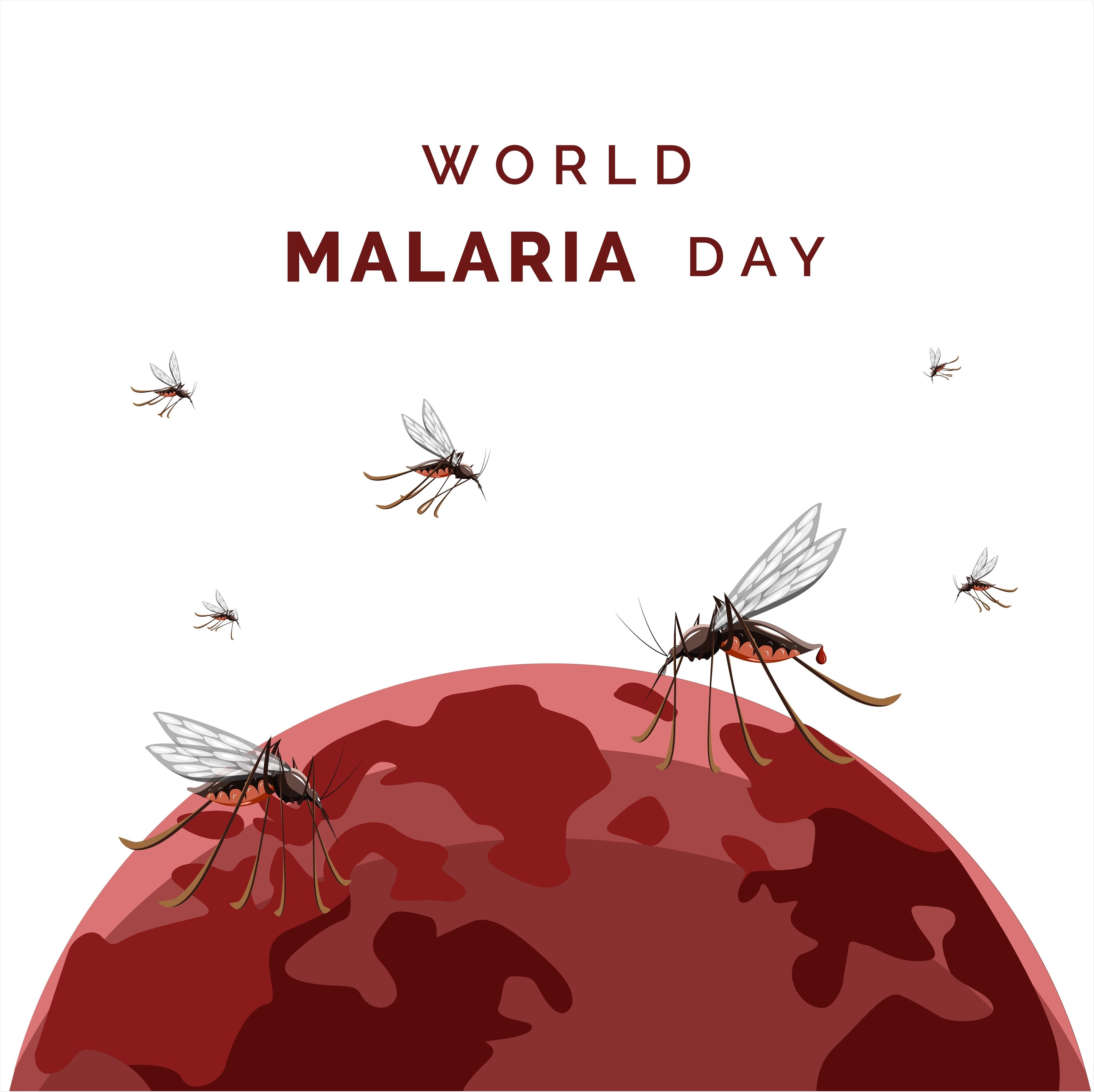 Giorno di malaria del mondo
