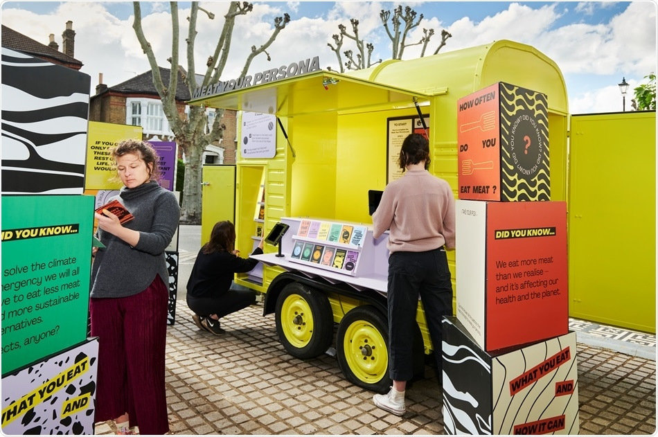 New touring installation will travel around the UK to talk about meat-eating habits