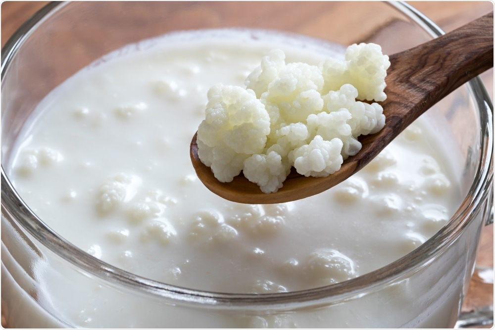 Study: Commercial kefir products assessed for label accuracy of microbial composition and density. Image Credit: Madeleine Steinbach / Shutterstock