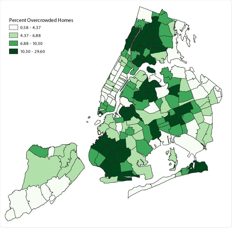 Percent Overcrowded Homes