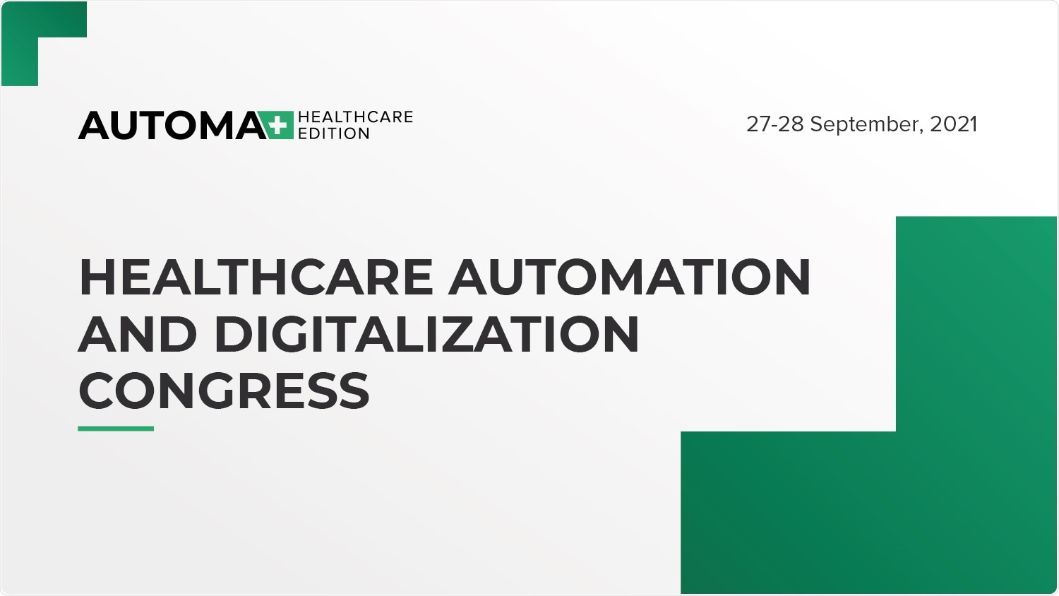 Healthcare Automation and Digitalization Congress focuses on accessible and affordable healthcare