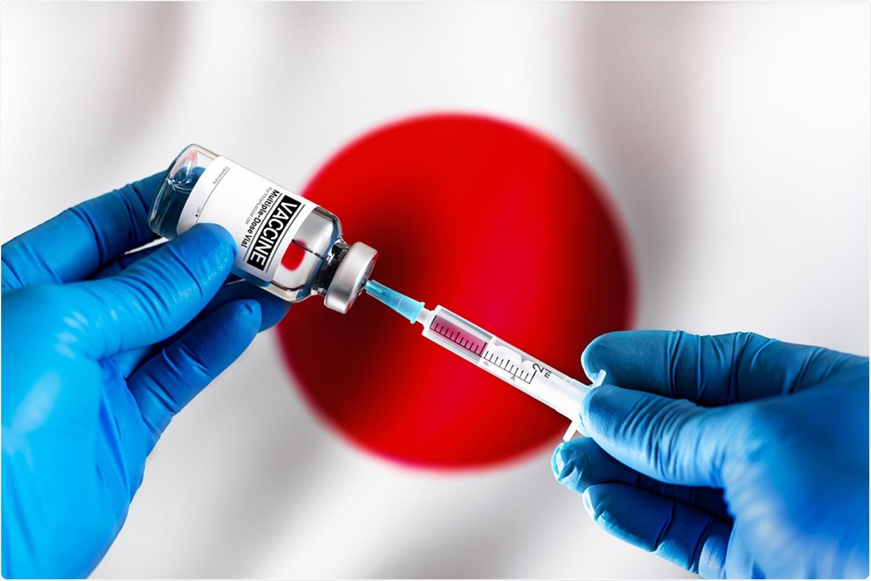 Étude : En estimant des effets de vaccination sur la manifestation COVID-19 courez au Japon. Crédit d