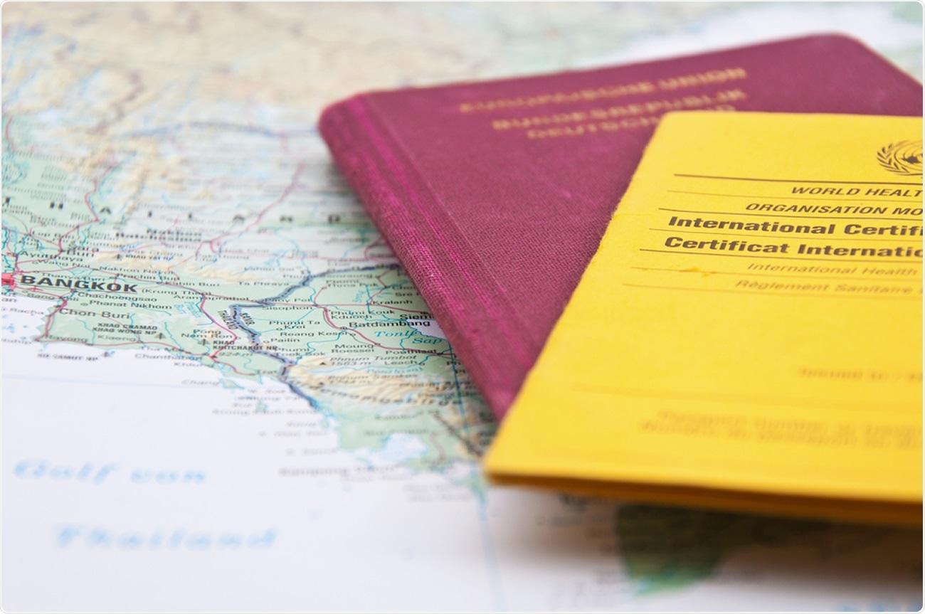 Estudio: El impacto potencial de los pasaportes de vacunas sobre la inclinación a aceptar las vacunas COVID-19 en el Reino Unido: evidencia de una gran encuesta transversal y un estudio de modelado.  Haber de imagen: odrama_llama / Shutterstock