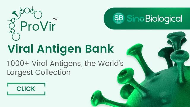 Viral antigen banks from Sino Biological