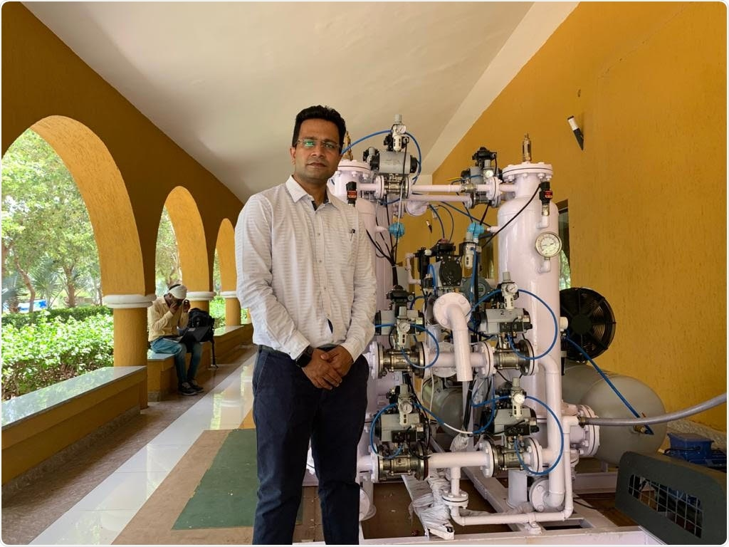 DIY oxygen conversion unit could be a low-cost solution to fight COVID-19 in India