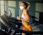 Study shows wearing facial masks do not impose any limitations during physical exercise