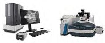 Phenom XL Desktop SEM (left) and Thermo Scientific DXR3xi Raman Imaging Microscope (right).