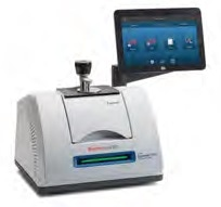 Thermo Scientific™ Nicolet™ Summit FTIR spectrometer with touchscreen and OMNIC™ Paradigm™ Software.