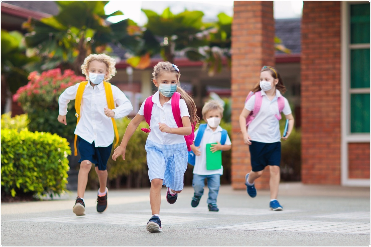 Study: Model-Based Assessment Of SARS-Cov-2 Delta Variant Transmission Dynamics Within Partially Vaccinated K-12 School Populations. Image Credit: FamVeld / Shutterstock