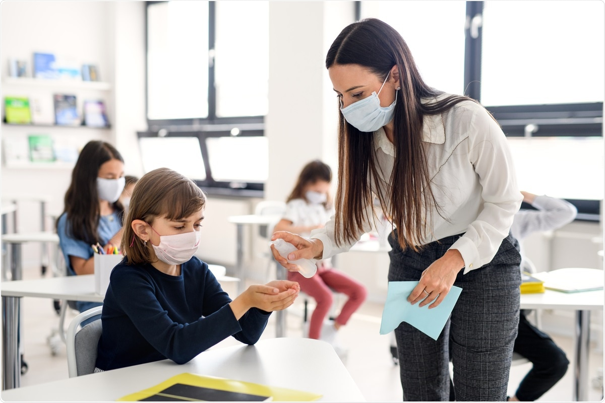 Study: SARS-CoV-2 aerosol transmission in schools: the effectiveness of different interventions Image Credit: Halfpoint/ Shutterstock