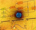 Model predicts SARS-CoV-2 spread in vaccinated vs. unvaccinated populations