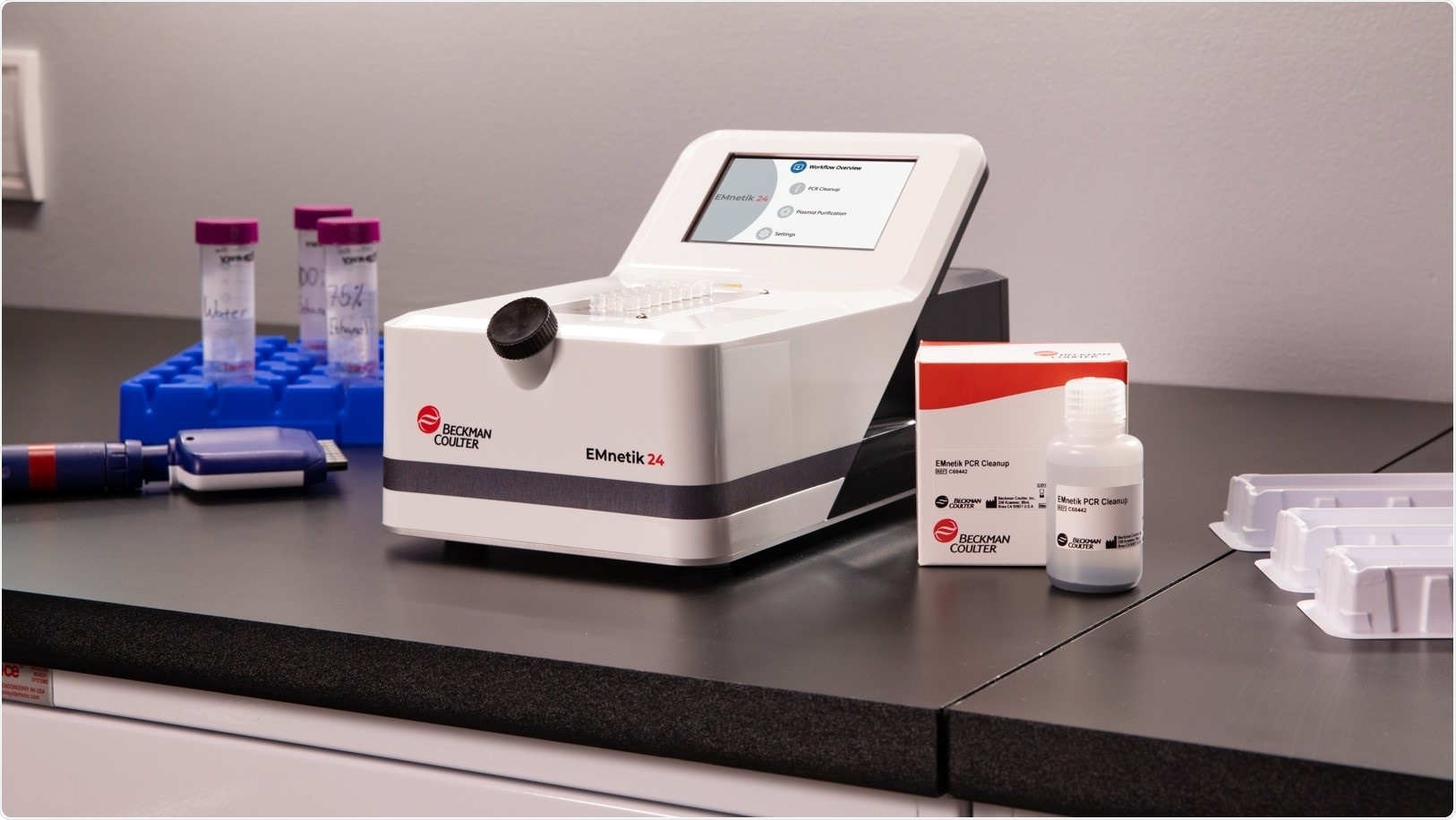 Beckman Coulter Life Sciences debuts the future of simplified PCR cleanup and plasmid prep with the EMnetik system