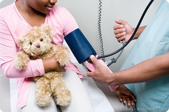 Blood pressure child